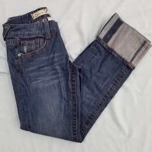 7 For All Mankind Straight Cuff Jeans